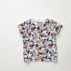 H&M snoopy tee GUC 6-9 months